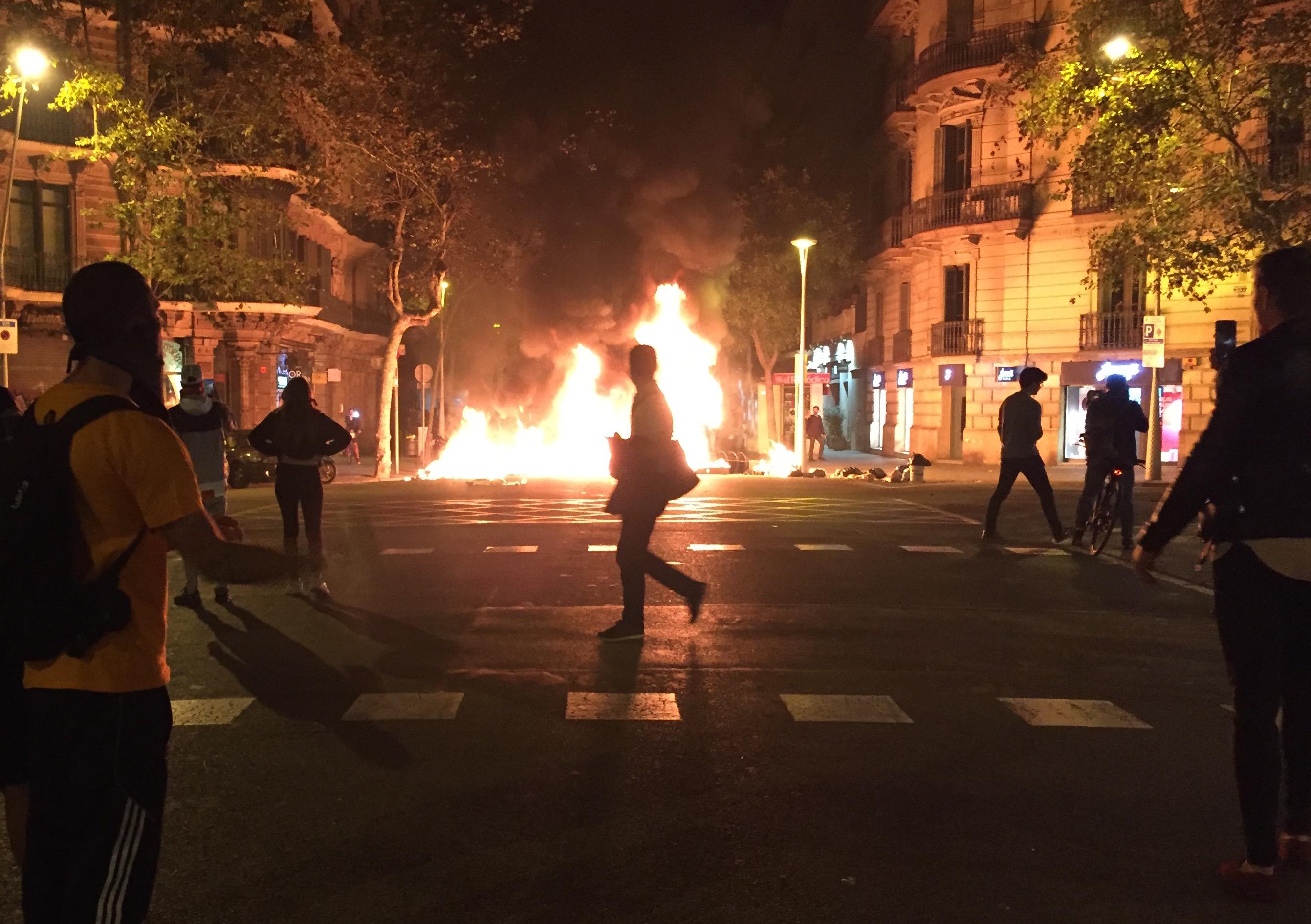 Barcelona Fire Edited